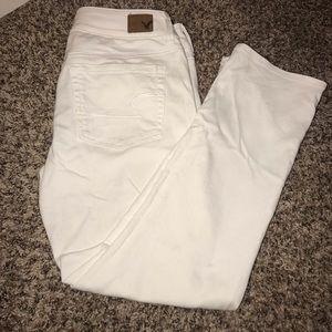 White jeans Capri